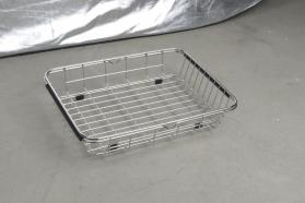 Sapho Drátěný košík ke dřezům EPIC a ZONDA, 25x44x8 cm, nerez EP100