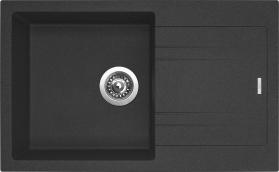 Granitový dřez Sinks LINEA 780 N Granblack SIGLI780480N30
