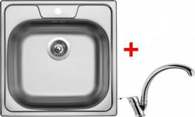 Nerezový dřez Sinks CLASSIC 480 5V+EVERA CL4805VEVCL