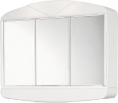 Aqualine ARCADE galerka 58x50x15cm, 2x14W, bílá plast 411342