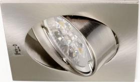 Sapho NAVI podhledové svítidlo výklopné, 50W, 12V, matný chrom 02553