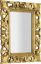 Sapho SAMBLUNG zrcadlo v rámu, 60x80cm, zlatá IN121