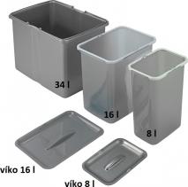 Sinks víko koše 8 l EK9029