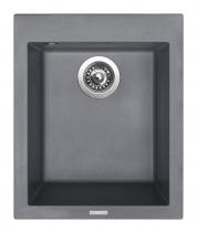Granitový dřez Sinks CUBE 410 Titanium TLCU41050072