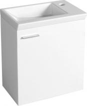 Aqualine ZOJA umyvadlová skříňka 44x50x23, 5cm, bílá 51046