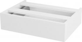 Sapho AVICE 1x zásuvka závěsná 60x15x48cm, bílá AV060