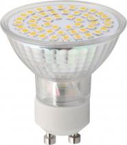 Sapho Led LED bodová žárovka 4W, GU10, 230V, teplá bílá, 281Lm LDP230