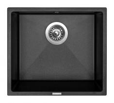 Granitový dřez Sinks FRAME 457 Metalblack ACRFR45740674
