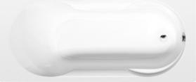 Polysan SATINA obdélníková vana 180x80x42cm, bílá 30111