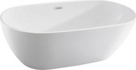 Aqualine DOURO volně stojící vana, 180x80 cm, bílá E1880