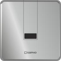 Sapho Senzorový splachovač pisoáru 6V (4xAA), nerez PS006