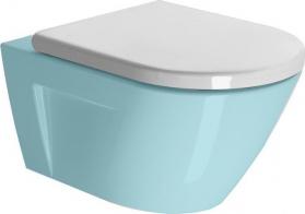 GSI NORM/PURA WC sedátko Soft Close, duroplast, bílá MS86CN11