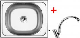 Nerezový dřez Sinks CLASSIC 500 6M+EVERA CL5006MEVCL