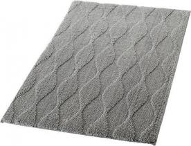 Ridder ORIENT předložka 60x90cm s protiskluzem, polyester, šedá 724307