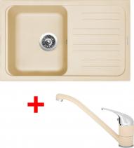 Granitový dřez Sinks CLASSIC 740 Sahara+CAPRI 4 GR UKC708CA450