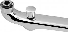 Aqualine Výtoková hubice s přepínačem, 3/4'x300mm, chrom 43997