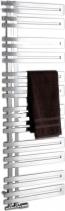 Sapho VOLGA otopné těleso 500x1238 mm, 311 W, broušený nerez NR512