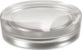 Gedy VEGA mýdlenka na postavení, stříbrná VG1173