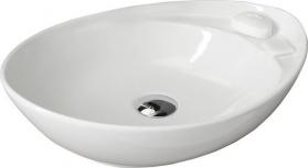 Sapho BEVERLY keramické umyvadlo 56x17x37 cm, na desku, bez přepadu WH040