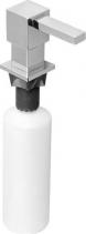 Sapho Zápustný dávkovač mýdla, hranatý, chrom SP011