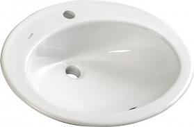 Sapho TROPICO keramické umyvadlo 58x46cm, zápustné TP230