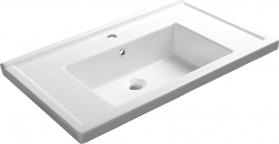 Aqualine ZENO 80 nábytkové umyvadlo 80x48, 5cm 8080
