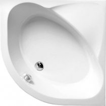 Polysan SELMA hluboká sprchová vanička, čtvrtkruh 90x90x30cm, R550, bílá 28611