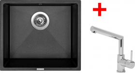 Granitový dřez Sinks FRAME 457 Metalb.+MIX 350P ACRF45774M350P
