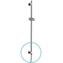 Sapho DANIELA posuvný držák sprchy, vývod vody, 700mm, chrom 1202-08