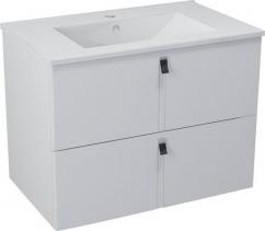 Sapho MITRA umyvadlová skříňka 74, 5x55x45, 2 cm, bílá MT071