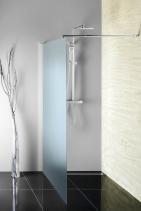 Aqualine WALK-IN zástěna jednodílná k instalaci na zeď, 1000x1900 mm WI100