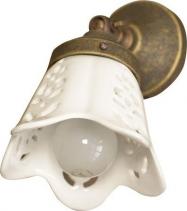 Sapho SORENTO svítidlo E14, 40W, 230V, keramické stínítko, bronz MC098