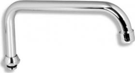 Novaservis Výtokové ramínko horní Metalia 55 satino RAM1174,9