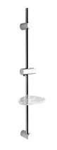 Sapho Posuvný držák sprchy s mýdlenkou, 810mm, chrom 1206-06