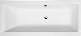 Polysan CLEO obdélníková vana 180x90x48cm, bílá 13111