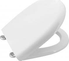 Aqualine ABSOLUTE / RIGA WC sedátko Soft Close, duroplast, bílá 40R30200I