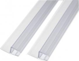 Gelco LEGRO set svislých těsnění pro 8mm sklo, 1900mm NDGL03