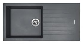 Granitový dřez Sinks PERFECTO 1000 Titanium ACRPE10050072