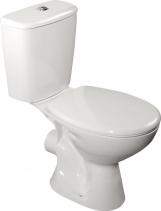 Aqualine JUAN WC kombi, dvojtlačítko 3/6l, zadní odpad, bílá LC2154