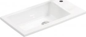 Aqualine ZUNO 50 nábytkové umyvadlo 50x25cm 9050