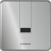 Sapho Podomítkový automatický splachovač pro urinál 6V (4xAA), nerez PS006