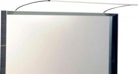 Sapho TREX TOUCHLESS LED nástěnné svítidlo 47cm 7W, bezdotykový sensor, hliník ED463