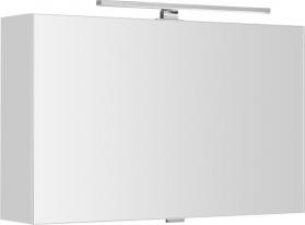 Sapho CLOE galerka s LED osvětlením 80x50x18cm, bílá (CE080) CE080-0030