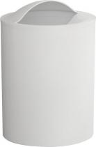 Aqualine EYE odpadkový koš, 6 l, plast ABS, bílá 120902