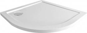 Mereo Čtvrtkruhová sprchová vanička, R550, SMC CV01NS