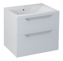 Sapho WAVE umyvadlová skříňka 60x65x47, 8cm, bílá (WA064) WA060-3030