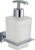Aqualine APOLLO dávkovač mýdla, mléčné sklo 1416-19