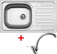 Nerezový dřez Sinks CLASSIC 760 6V+EVERA CL7606VEVCL