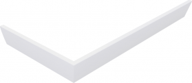 Polysan KARIA 120x70 rohový panel, výška 11 cm, pravý 47812R