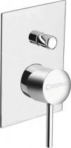 Sapho RHAPSODY podomítková sprchová baterie, 2 výstupy, chrom 5585Q